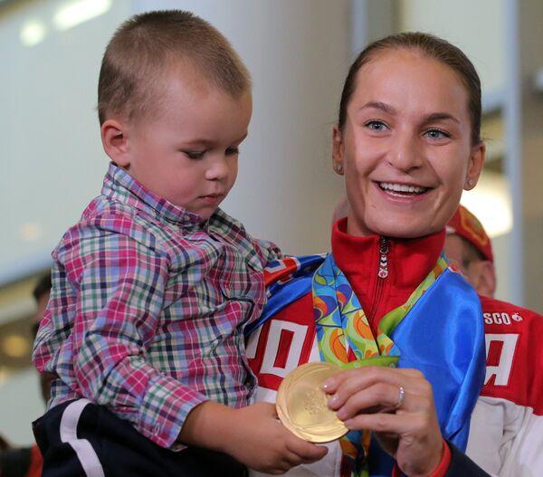 Софья Великая с сыном Олегом
