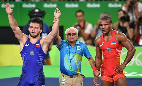 Давит Чакветадзе и Жан Беленюк (слева направо)