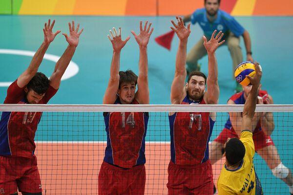 Егор Клюка, Артём Вольвич и Максим Михайлов (слева направо)