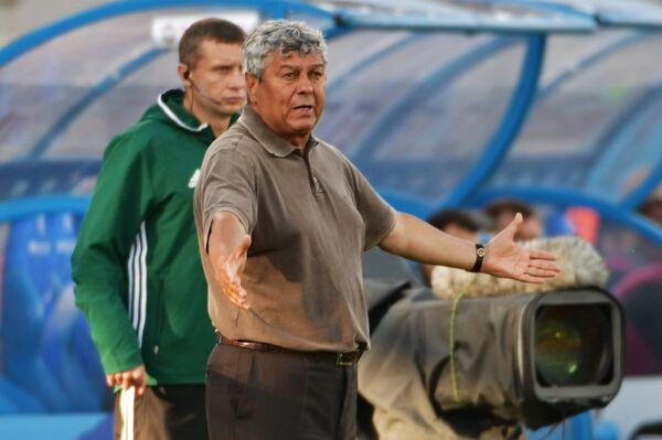 Главный тренер ФК Зенит Мирча Луческу