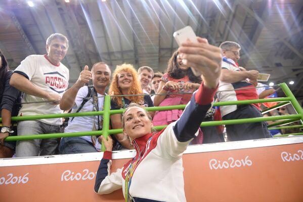 Игрок сборной России Ирина Близнова