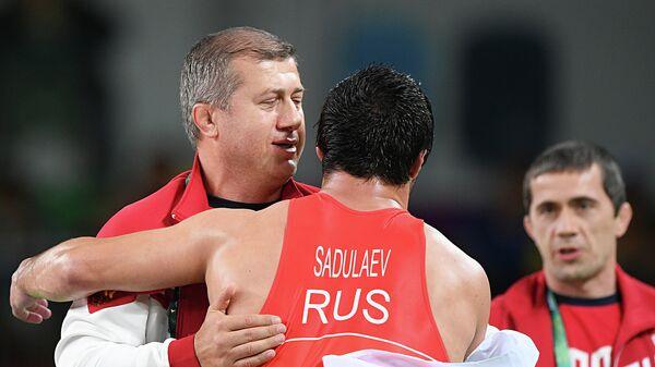 Дзамболат Тедеев и Абдулрашид Садулаев (слева направо)