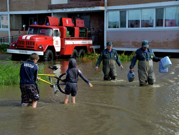 Последствия циклона в Приморском крае
