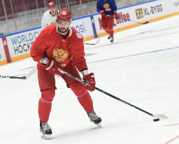 Форвард сборной России по хоккею Никита Кучеров