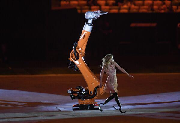 Церемония открытия XXXI летних Паралимпийских игр в Рио-де-Жанейро