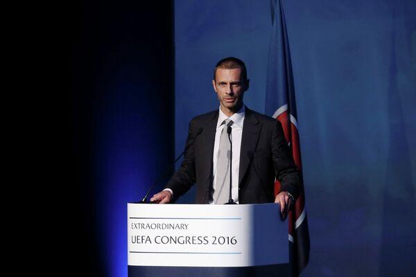 Руководитель Футбольной ассоциации Словении (NZS) Александер Чеферин
