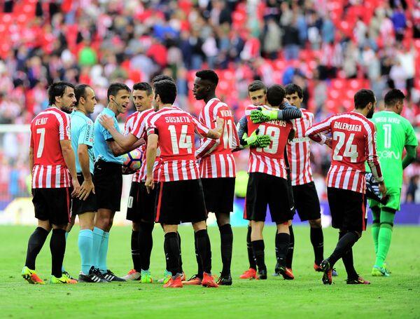 Футболисты Атлетика из Бильбао