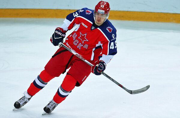 Форвард ПХК ЦСКА Валерий Ничушкин