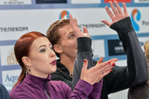 Екатерина Боброва (на первом плане)
