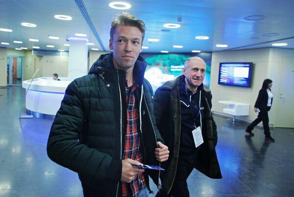 Даниил Квят (слева) и Франц Тост