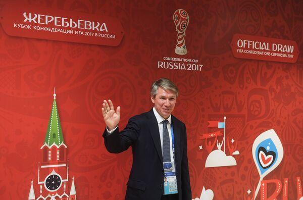 Генеральный директор оргкомитета Россия-2018 Алексей Сорокин