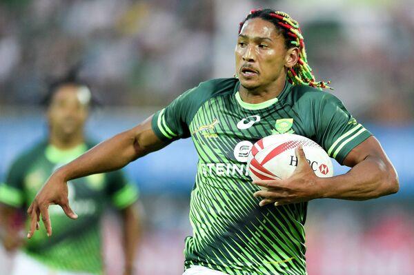 Игрок сборной ЮАР по регби-7 Джастин Гедальд