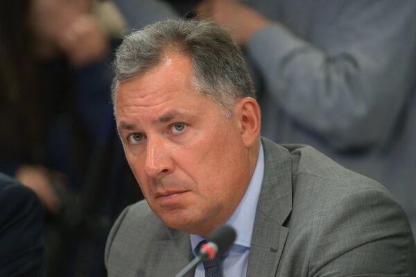 Первый вице-президент Федерации фехтования России (ФФР) Станислав Поздняков