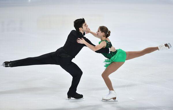Анастасия Мишина и Владислав Мирзоев (Россия)