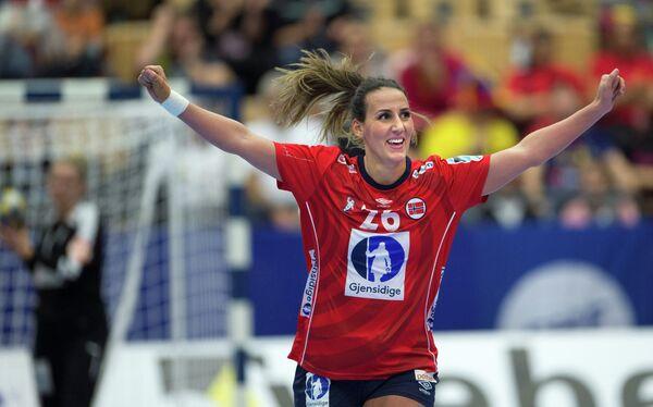 Гандболистка сборной Норвегии Марта Томак