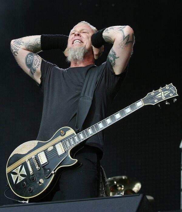 Лидер группы Metallica Джеймс Алан Хэтфилд