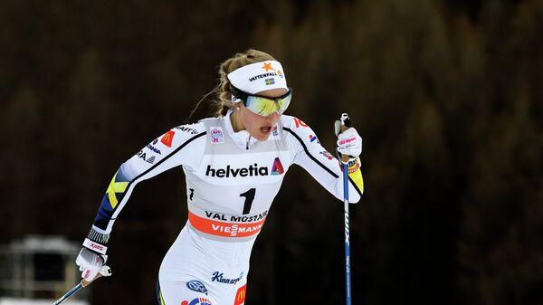 Шведская лыжница Стина Нильссон
