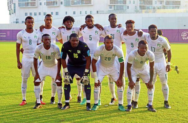 Футболисты сборной Кот-д'Ивуара