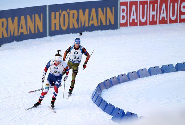 Эмиль Хегле Свендсен (слева) и Симон Шемпп