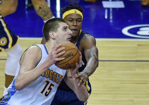 Центровой клуба НБА Денвер Наггетс Киола Йокич (№15)