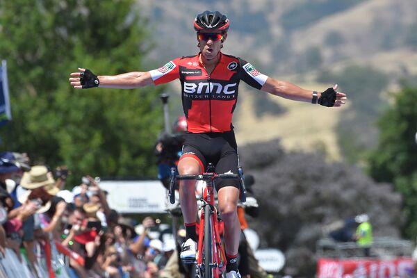Австралийский велогонщик Ричи Порт из команды BMC