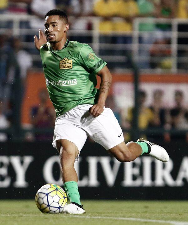 Бразильский футболист Габриэл Жезус