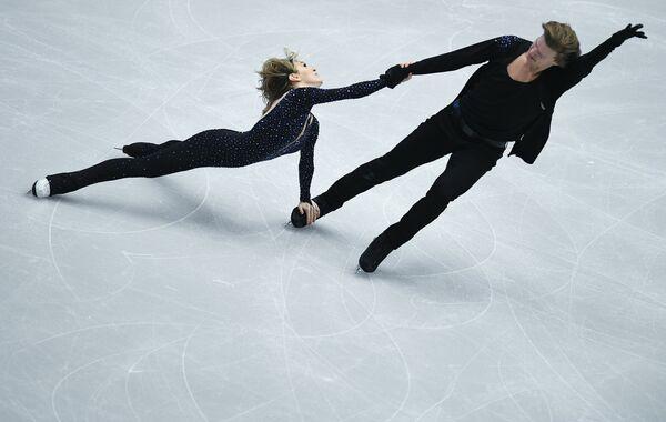 Изабелла Тобиас и Илья Ткаченко (Израиль)