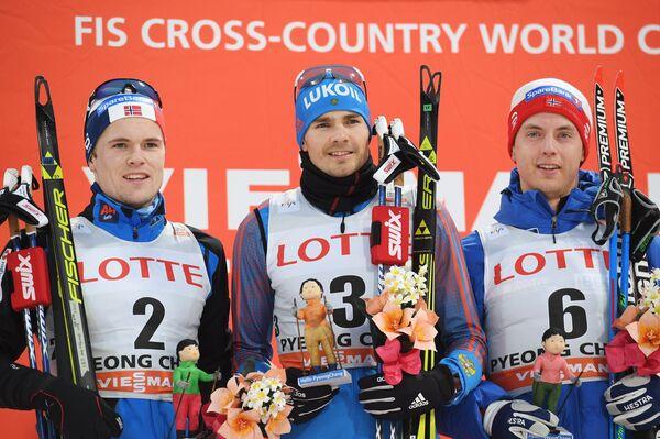 Даниэль Сток, Петр Седов и Матиас Рундгрен (слева направо)