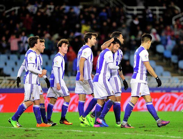 Футболисты Реала Сосьедад