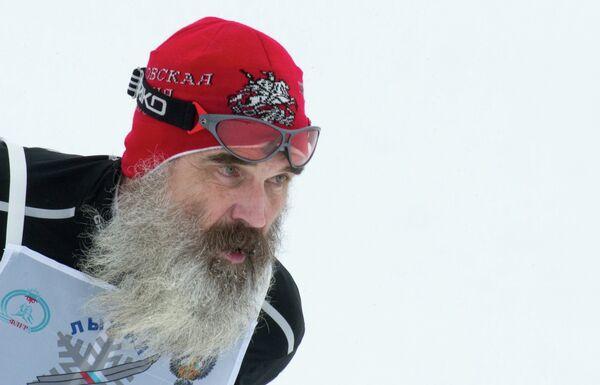 Участник всероссийской массовой лыжной гонки Лыжня России - 2017