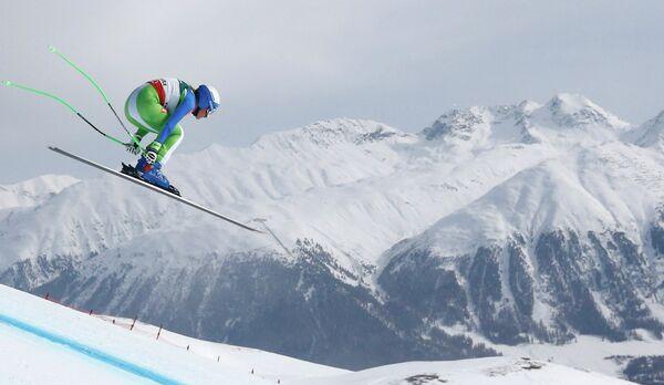 Словенская горнолыжница Илка Штухец