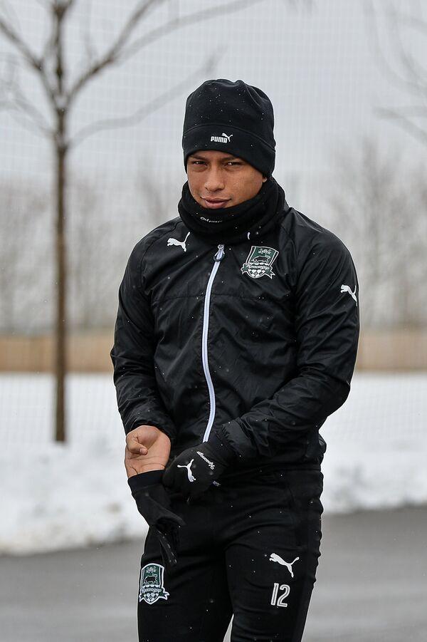Защитник ФК Краснодар Кристиан Рамирес