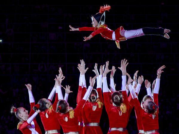 Участники гала-концерта Гран-при Москвы по художественной гимнастике