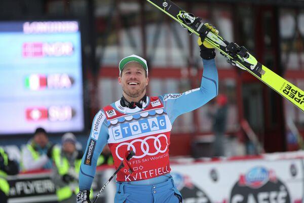 Норвежский горнолыжник Хьетиль Янсруд