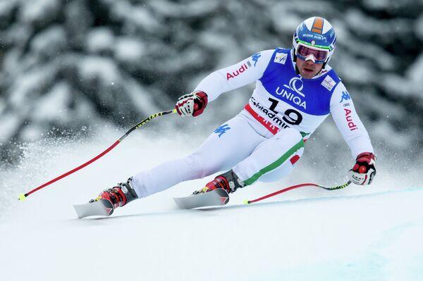 Итальянский спортсмен Петер Филль