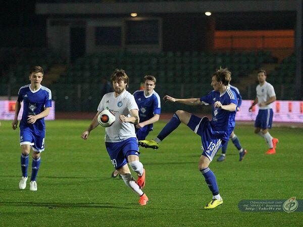 Игровой момент финального матча Кубка ФНЛ Факел - Чертаново