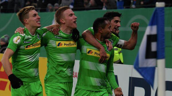 Футболисты Боруссии из Мёнхенгладбаха