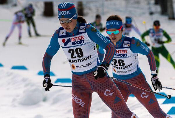 Алиса Жамбалова и Елена Соболева (слева направо)