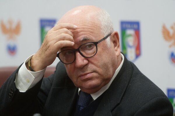 Президент Федерации футбола Италии Карло Тавеккио