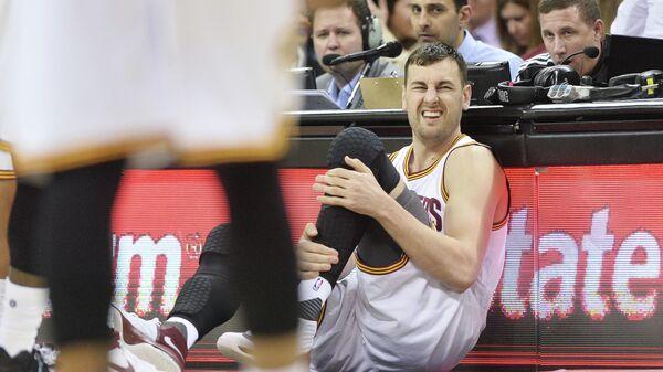 Австралийский центровой клуба НБА КЛивленд Кавальерс Эндрю Богут