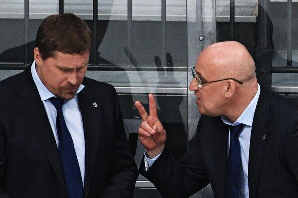 Сергей Орешкин (справа) и Андрей Скопинцев