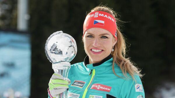 Чешская биатлонистка Габриэла Коукалова