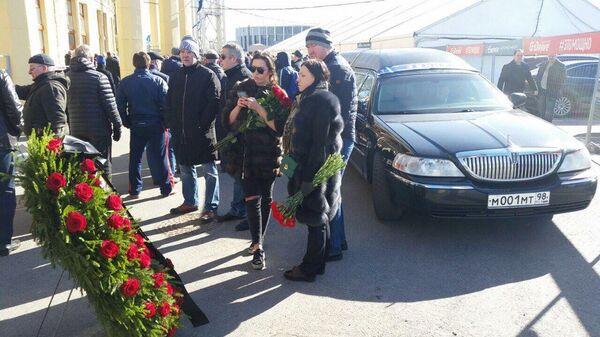 Церемония прощания с Владимиром Казаченком