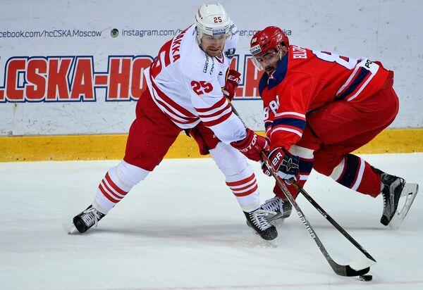 Пекка Йормакка (слева) и Артём Блажиевский