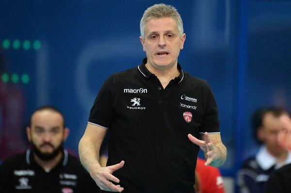 Главный тренер ВК Бусто Арсицио Марко Менкарелли
