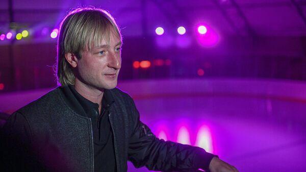 Двукратный олимпийский чемпион по фигурному катанию Евгений Плющенко