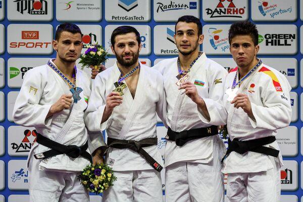 Янислав Герчев, Роберт Мшвидобадзе, Орхан Сафаров и Франциско Гарригос (слева направо)