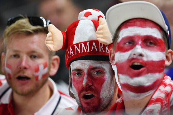 Датские болельщики