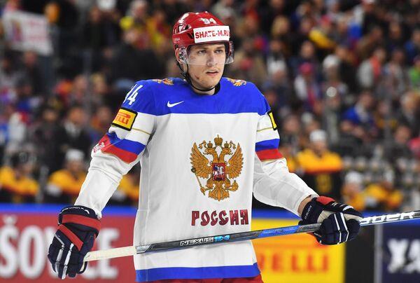 Защитник сборной России Андрей Миронов