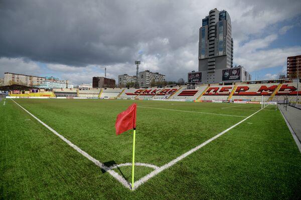 Стадион Звезда пермского футбольного клуба Амкар